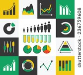 business info graphics icons...   Shutterstock .eps vector #236759608