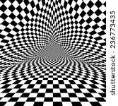 black and white optical... | Shutterstock .eps vector #236773435