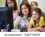 education  elementary school ... | Shutterstock . vector #236774425