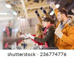 people  friendship  sport and... | Shutterstock . vector #236774776