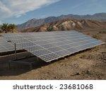 solar panels in death valley 2 | Shutterstock . vector #23681068