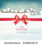 holiday christmas background... | Shutterstock .eps vector #236824672