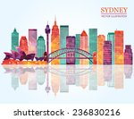 Sydney City Skyline Detailed...