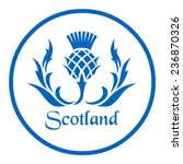 Floral Emblem Of Scotland  The...