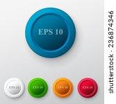 button set | Shutterstock .eps vector #236874346