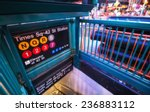 times square entrance subway... | Shutterstock . vector #236883112