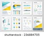business info graphics vector... | Shutterstock .eps vector #236884705