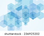 abstract vector modern flyer. | Shutterstock .eps vector #236925202