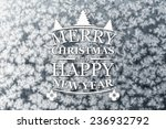 merry christmas and new year... | Shutterstock . vector #236932792