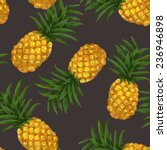 hand drawn seamless pattern... | Shutterstock .eps vector #236946898