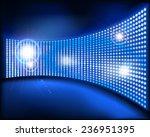 the big screen. vector...   Shutterstock .eps vector #236951395