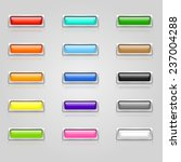 set of colorful 3d web buttons... | Shutterstock .eps vector #237004288
