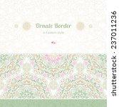 vector seamless border in...   Shutterstock .eps vector #237011236
