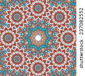 mandala background. vintage... | Shutterstock .eps vector #237082552