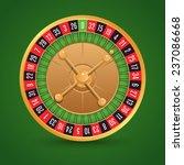 realistic casino roulette... | Shutterstock . vector #237086668