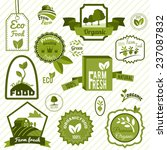 farm fresh natural products...   Shutterstock . vector #237087832