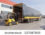logistics and handling.... | Shutterstock . vector #237087835