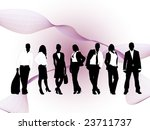 business people | Shutterstock .eps vector #23711737