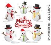 vector snowman christmas, christmas logo
