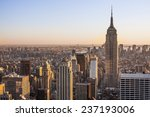 aerial view of new york city in ... | Shutterstock . vector #237193006
