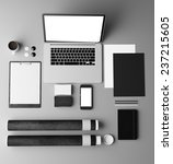 branding mockup | Shutterstock . vector #237215605