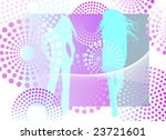vector illustration with woman... | Shutterstock .eps vector #23721601