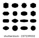 set of retro vintage badges  ... | Shutterstock .eps vector #237239032