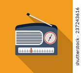 radio icon | Shutterstock .eps vector #237243616
