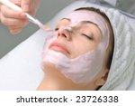 beauty salon series  facial mask | Shutterstock . vector #23726338