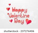 happy valentine day celebration ... | Shutterstock .eps vector #237276406