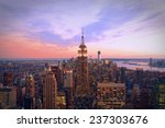 new york city at twilight | Shutterstock . vector #237303676