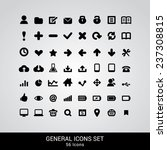 general icons set