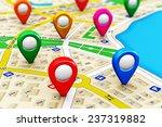 gps satellite navigation ... | Shutterstock . vector #237319882