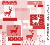 seamless pattern with nordic... | Shutterstock .eps vector #237329176