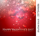 happy valentine's day. holiday... | Shutterstock . vector #237344686