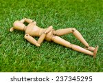 lying on the grass | Shutterstock . vector #237345295
