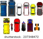 thai cars top view set | Shutterstock .eps vector #237348472