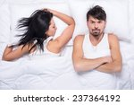 young woman is sleeping in the... | Shutterstock . vector #237364192