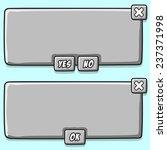 stone game interface panels ui...