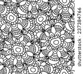ornamental seamless pattern... | Shutterstock .eps vector #237384766