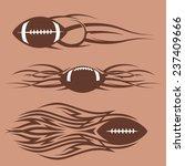 tribal footballs | Shutterstock .eps vector #237409666