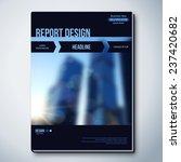 modern abstract brochure ...   Shutterstock .eps vector #237420682
