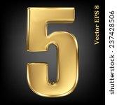 vector 3d golden number...