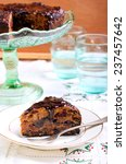 Rich Fruit Cake With Chocolate...