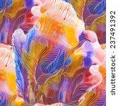 exotic underwater world with... | Shutterstock .eps vector #237491392