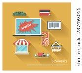 e commerce modern concept in...