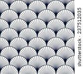 seamless vintage pattern of... | Shutterstock .eps vector #237512035