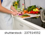 food preparation in the kitchen | Shutterstock . vector #237514552