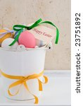 a container of colourful easter ...   Shutterstock . vector #23751892