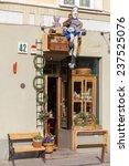 vilnius  lithuania   may 1 ... | Shutterstock . vector #237525076
